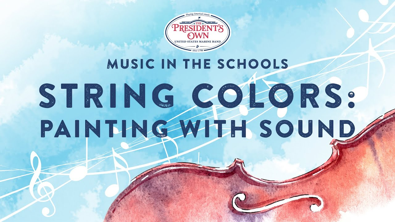 This program showcases the incredible world of musical colors and textures possible with string instruments. The Marine Chamber Orchestra introduces a variety of fun and evocative chamber music, reinforces elements of basic string musicianship, and shows students what they can look forward to as they continue to explore their musical journey as a string musician.  Program: https://www.marineband.marines.mil/Portals/175/Docs/Programs/MITS2020_Orchestra.pdf