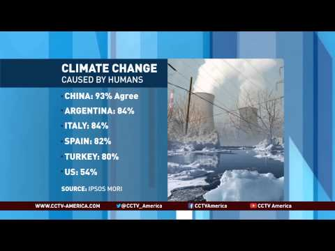 What is the impact of human activity on climate change?