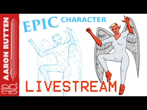  EPIC CHARACTER Contest - Corel, ClipStudio & Drawcrowd (LiveStream)