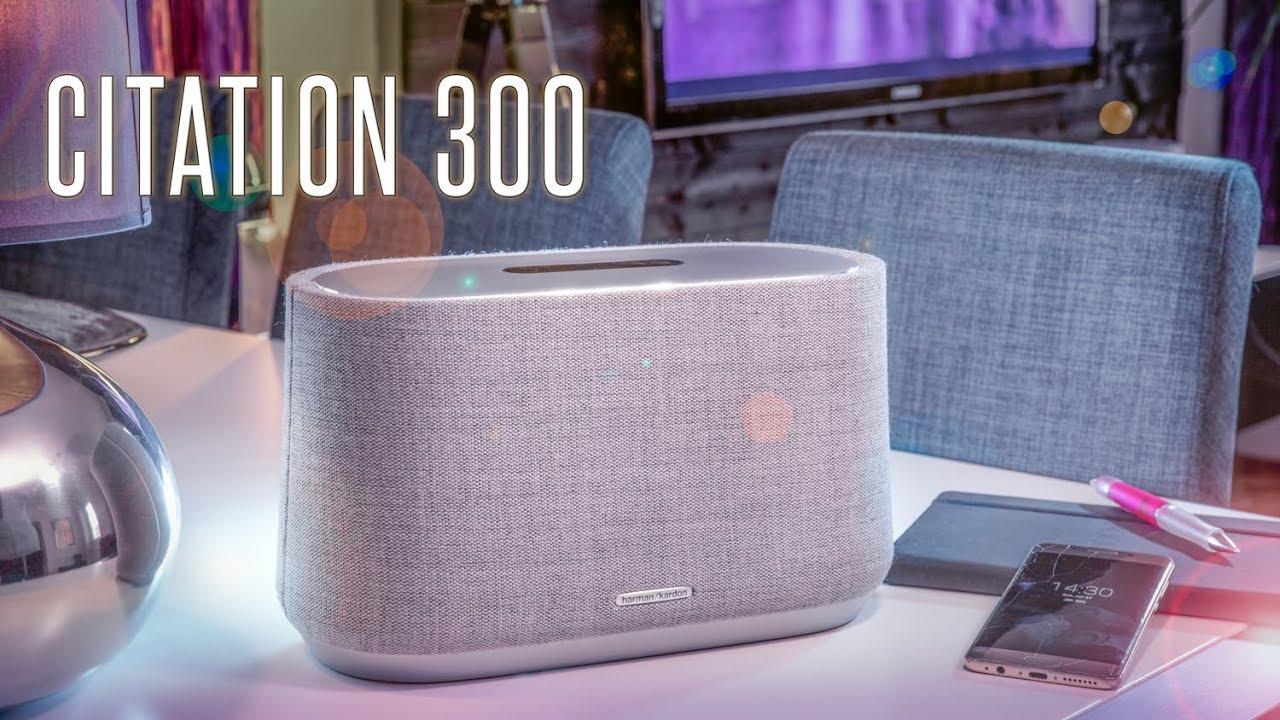 Citation 300 Review Google Assistant Controlled Speaker