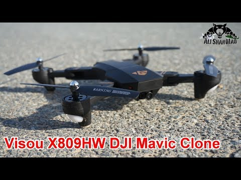 DJI Mavic Clone Visou X809HW Altitude hold wide angle Camera Drone