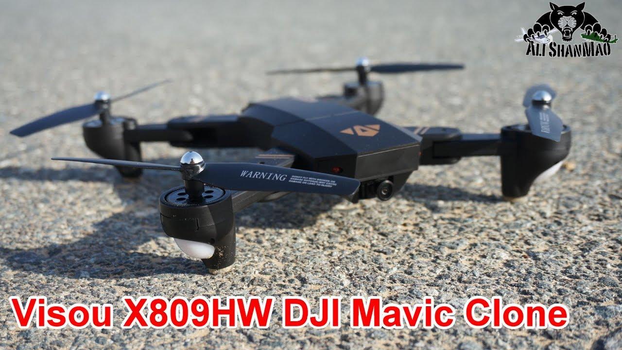 3531001b58c DJI Mavic Clone Visou X809HW Altitude hold wide angle Camera Drone ...
