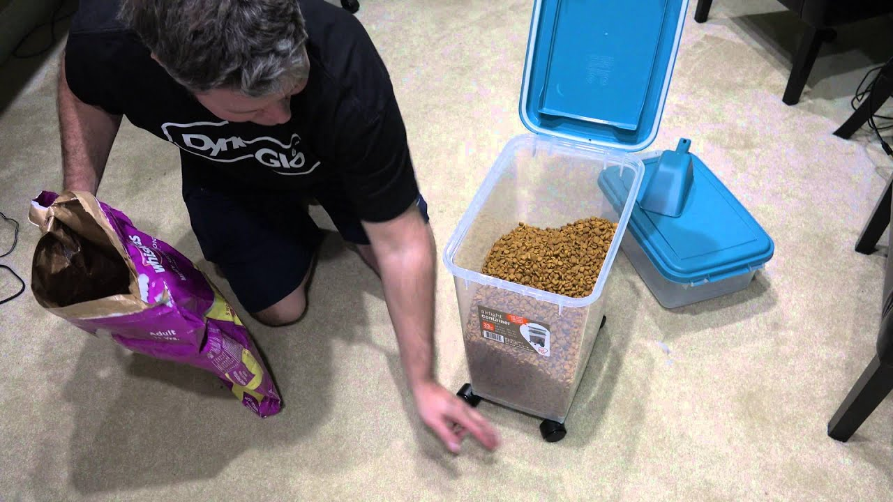 Airtight Pet Food Container Combo Kit Review In 4k Ultrahd Youtube
