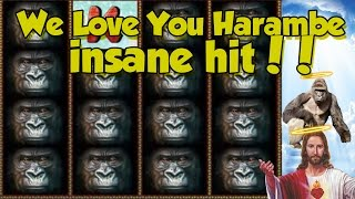 Online Slot - Gorilla Big Win and bonus round (Casino Slots) Huge win