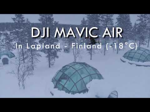 DJI Mavic Air under extreme winter conditions – Lapland