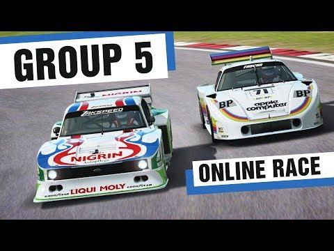 RaceRoom   Group 5 - ONLINE RACE