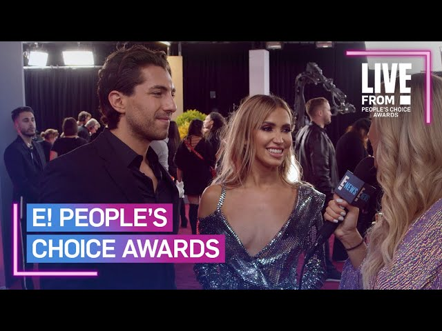 Kaitlyn Bristowe & Jason Tartick Aren\'t Rushing to the Altar | E! People's Choice Awards