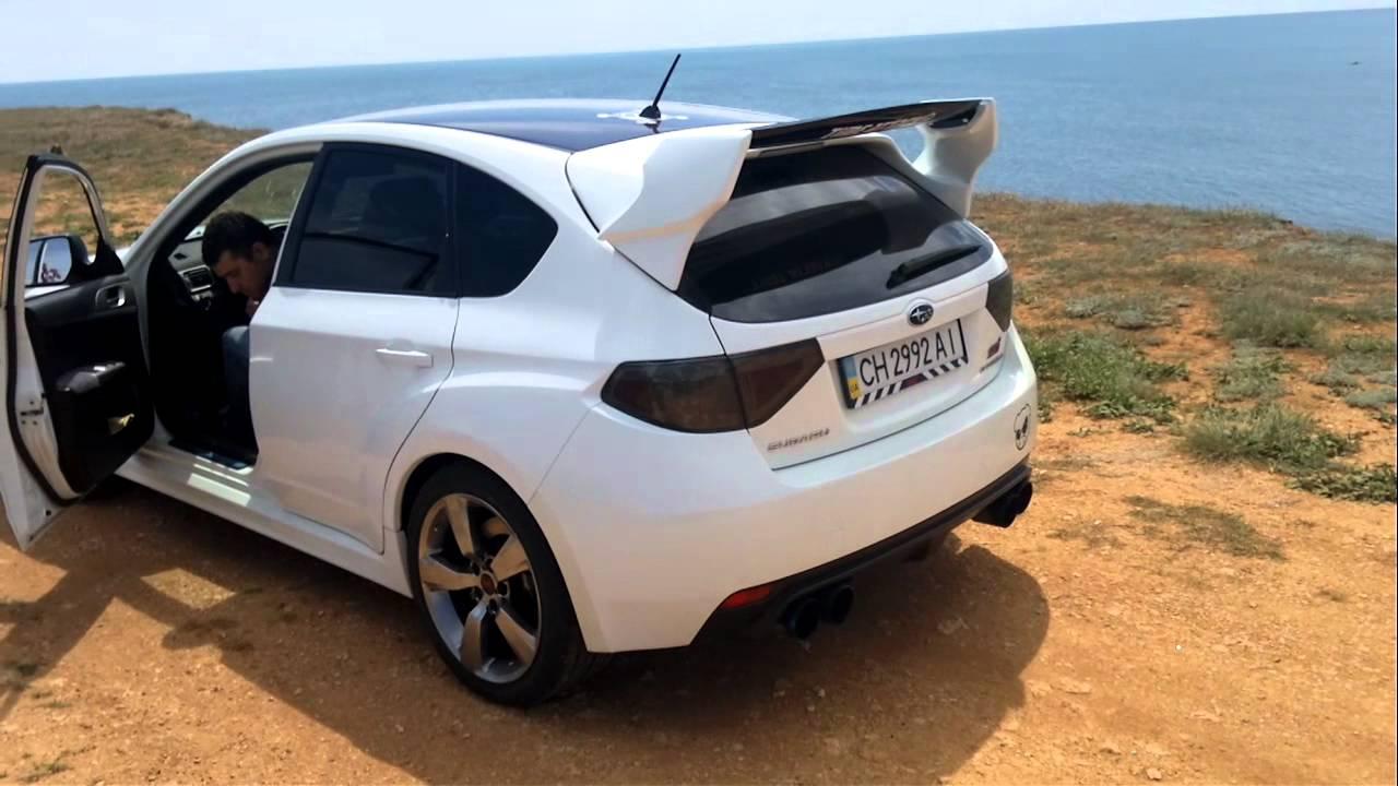 Subaru WRX STi GRB Revving and exhaust sound - YouTube