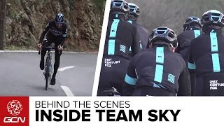Behind The Scenes - A Day At Training Camp With Team Sky