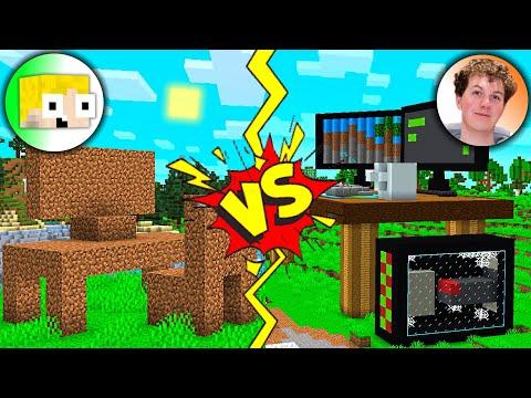 Hvem kan bygge det flotteste Setup i Minecraft? (Med TrierGaming)