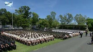 Se realizó el Egreso Conjunto de las Fuerzas de Seguridad