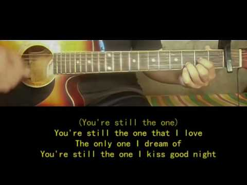 You're still the one Guitar Chords and Lyrics - Shania Twain