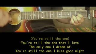 You're still the one Guitar Chords and Lyrics - Shania Twain