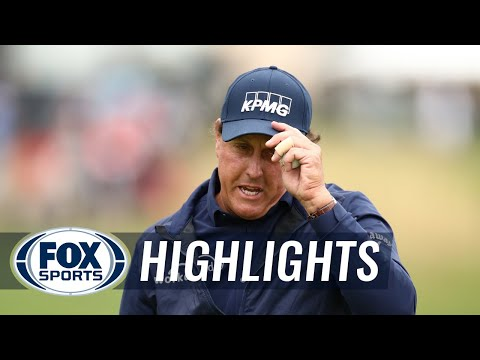 Phil Mickelson, Sergio Garcia And Justin Thomas | 2019 U.S. OPEN HIGHLIGHTS