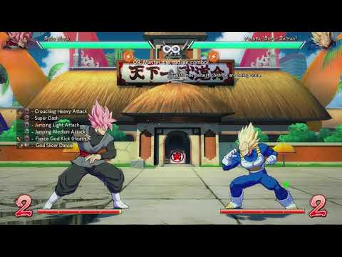 DBFZ Combo Trials Goku Black