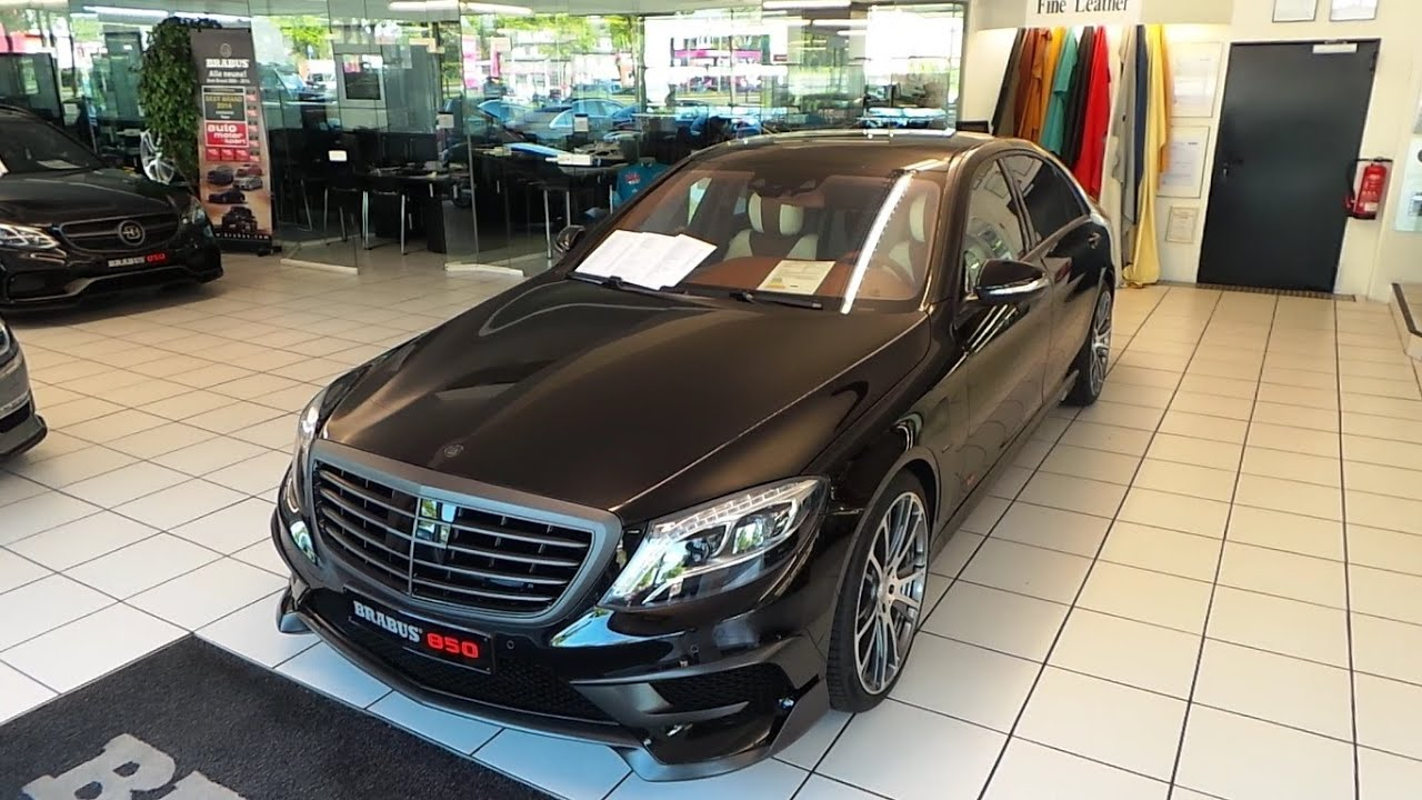 mercedes benz brabus 850 s class 2016 in depth review interior exterior youtube - 2015 Mercedes S Class Sedan Interior