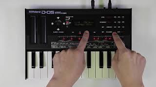 """""""Sequencer Edit"""" Roland D-05 #04"""
