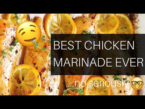 The BEST Healthy Chicken Marinade Ever. + one weeks meal prep