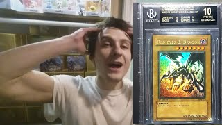 Yu-Gi-Oh $10,000 Red Eyes Black Label BGS 10 Pristine Transaction Reaction + Investing Future of LOB