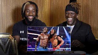 Kofi & Truth reunite to watch their SummerSlam tag title victory: WWE Playback