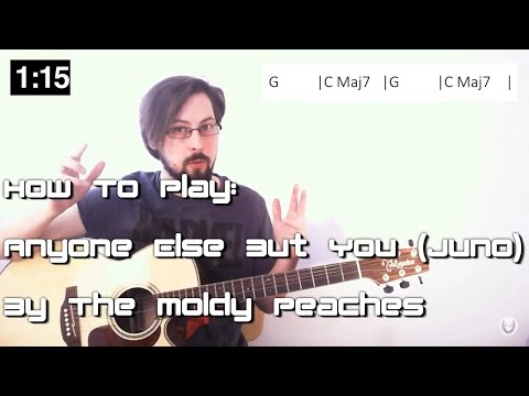 🎶 Learn Songs In SECONDS! Anyone Else But You - Moldy Peaches (Juno)