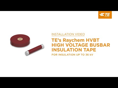 TE's Raychem High Voltage Busbar Tapes: Protection Against Induced Flashovers