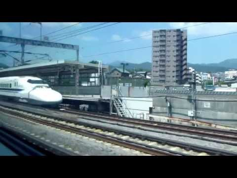 【HD】View from the Shinkansen 【新幹線車窓】 (Tokyo~Nagoya)