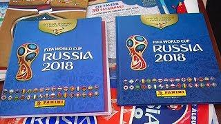 Поддельные альбомы с наклейками World Cup Panini: в Перу изъяли большую партию
