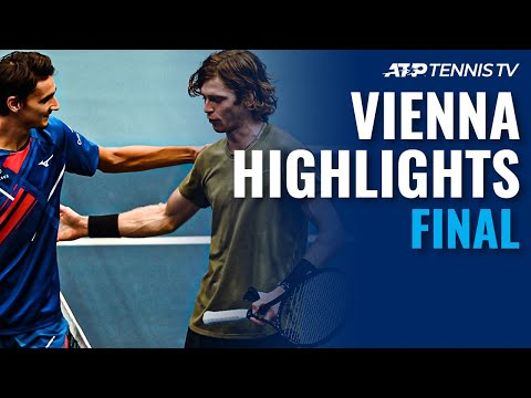 Lorenzo Sonego vs Andrey Rublev | Vienna 2020 Final Highlights