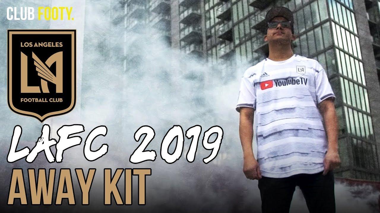 newest 49627 ff2a6 LAFC LAUNCH 2019 AWAY JERSEY | MLS KITS | CLUB FOOTY