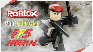 Roblox (c) Discover the FPS Arsenal mode (free gun game)