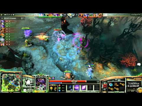SNT vs CIS Game 2 - SinaCup China Dota 2 1st Qualifier - TobiWan & syndereN