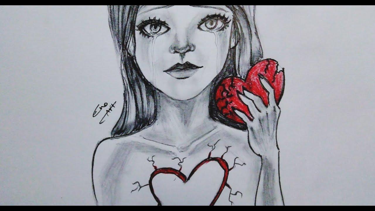 رسم سهل بالرصاص سلسلة الرسوم التعبيرية 8 Youtube