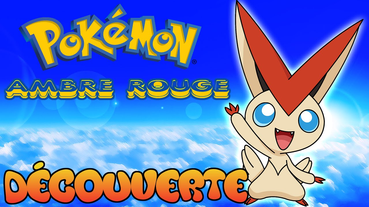 rom hack pokemon ambre rouge