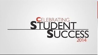 Celebrating Student Success 2014