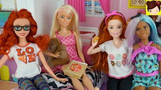 """Frozen Adolescentes """" La Pijamada Embarazosa """" Historias con Muñecas  Barbie - Royal High Ep. 3"""