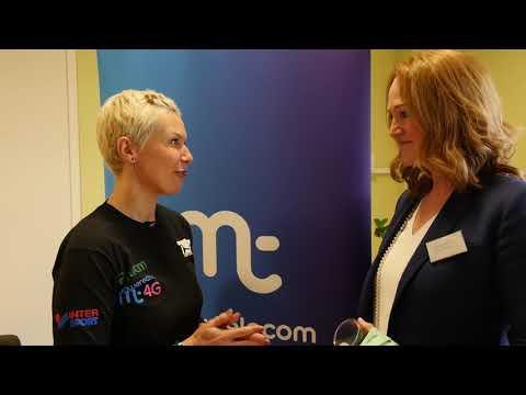 Isle of Man Manx Telecom Parish Walk launch interviews