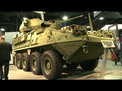 General Dynamics Stryker Upgrade
