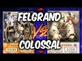 Yugioh COLOSSAL FIGHTER vs FELGRAND (Yu-gi-oh Competitive Deck Duel!)