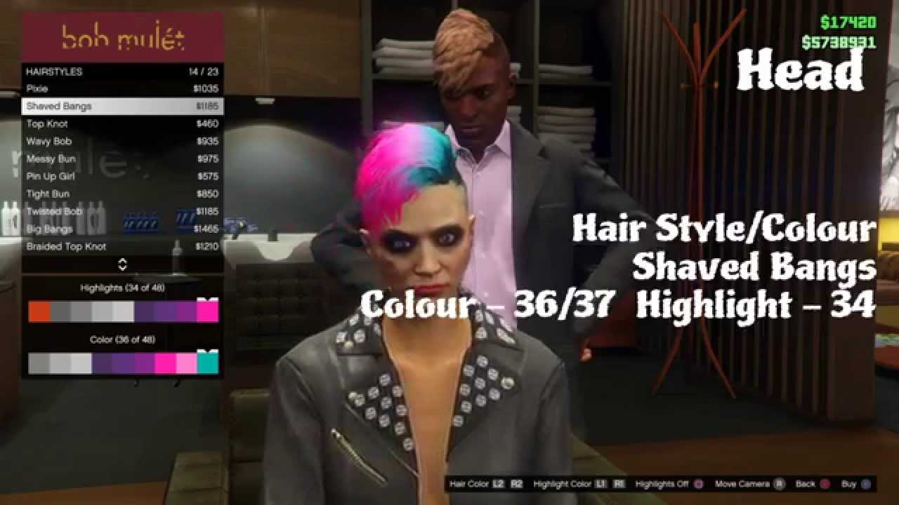 gta 5 online ps4 female fashion punk rocker youtube