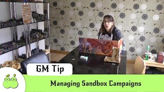 GM Quick Tip: Managing Sandbox Campaigns