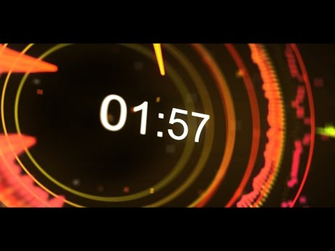 Equalizer Countdown  2 min  v 517  Timer + Music Sound Visualizer  effects hd 4k!