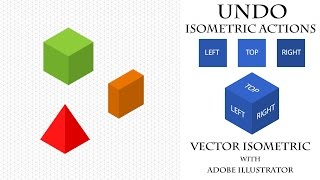 Экшены отмены изометрии. Undo Isometric Actions. Уроки векторной изометрии.