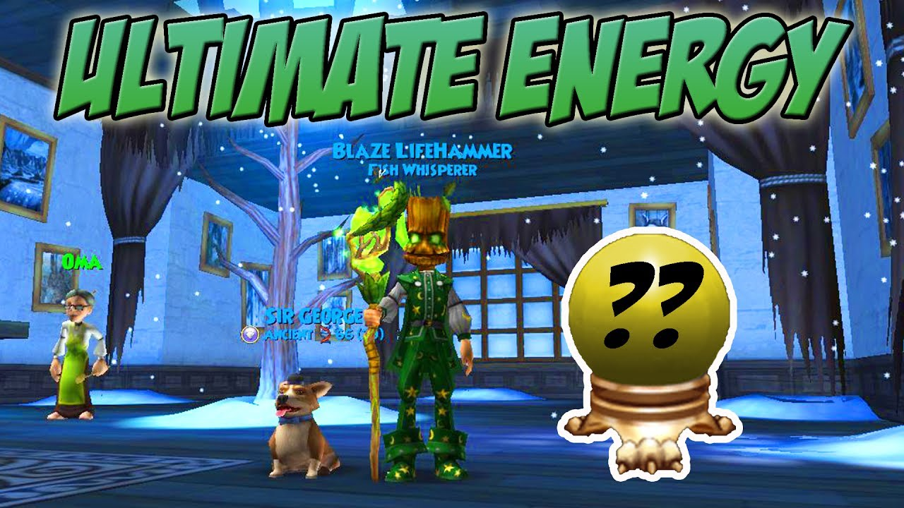 Wizard101: QUEST FOR ULTIMATE ENERGY