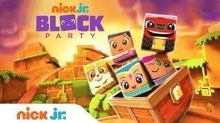Baixar NEW Block Party: Golden Cube Adventure w/ PAW Patrol, Shimmer & Shine, & More! | Nick Jr.