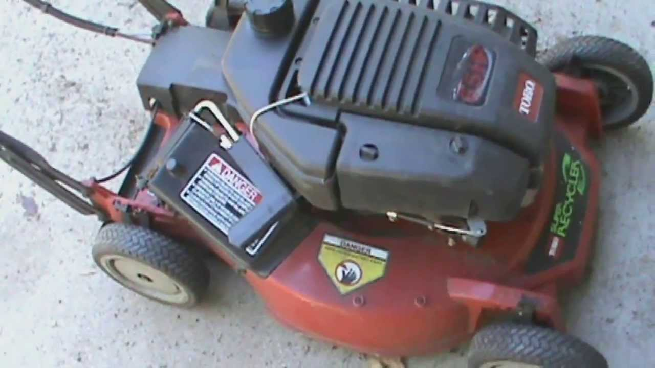 5 23 2013 Toro Super Recycler Oil Change And Blade