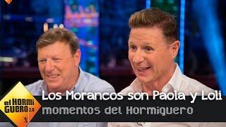 Los Morancos, en la piel de dos señoras que llevaban 30 años sin verse - El Hormiguero 3.0