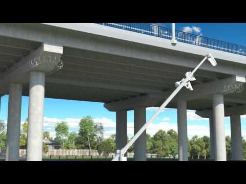 Highway bridge project - Russia