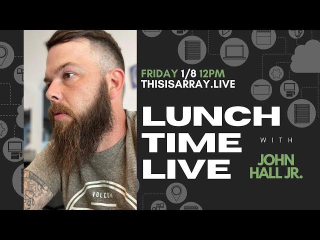 John Hall Jr. - Lunchtime Live