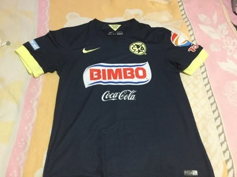 73d83625896 Jersey Visita Nike Club América 2014 - 2015 - YouTube